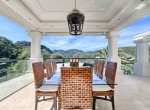 18 Terrace dining