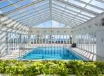 8 Heated pool