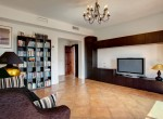 Library / TV room