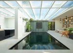 Indoor swimming pool & natural light