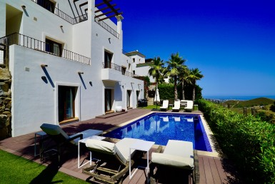modern 4br villa in benahavis hills, 24hr security, panoramic views, benahavis, luxury, modern, benahavis hills and country club, sea, sun, marbella, sea